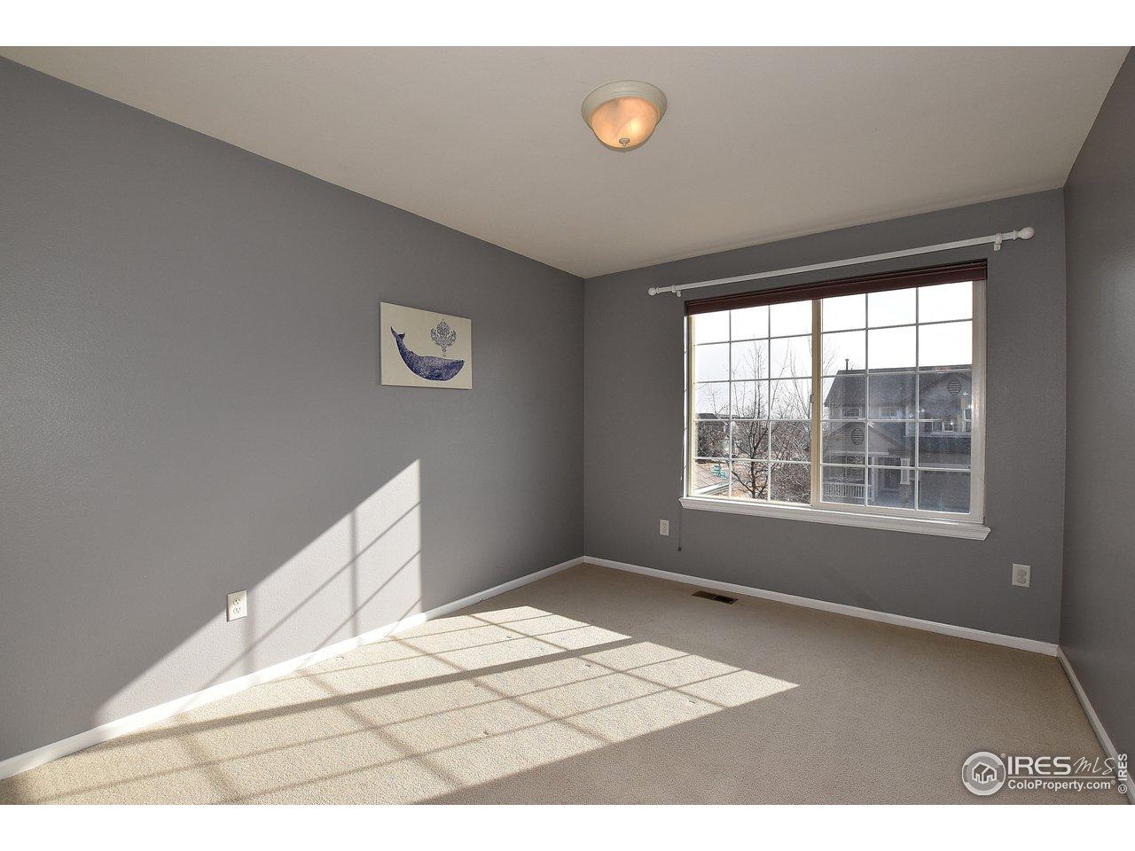 Bedroom 2 W/ Decorator Paint