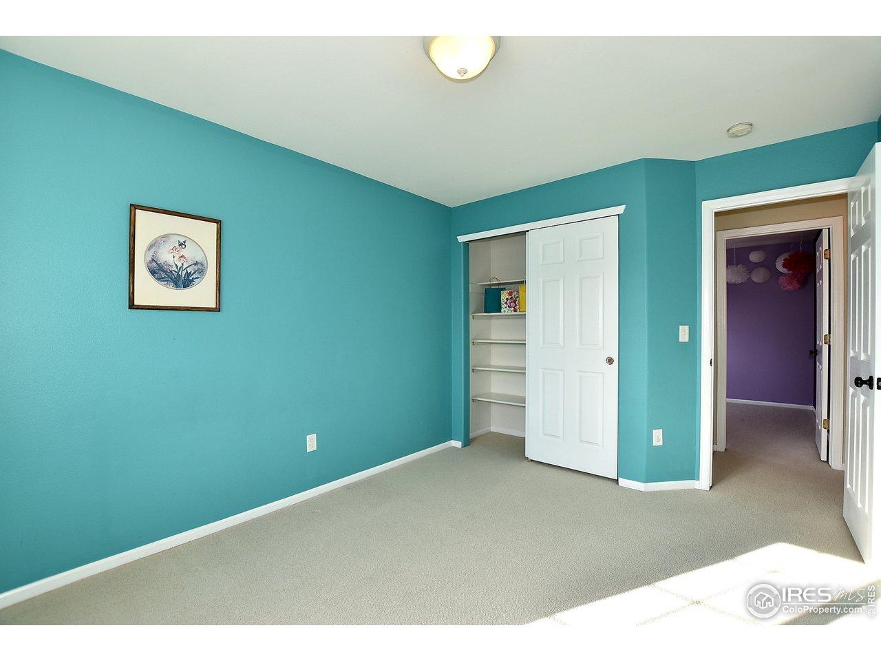 Bedroom 4 W/ Closet Shelving