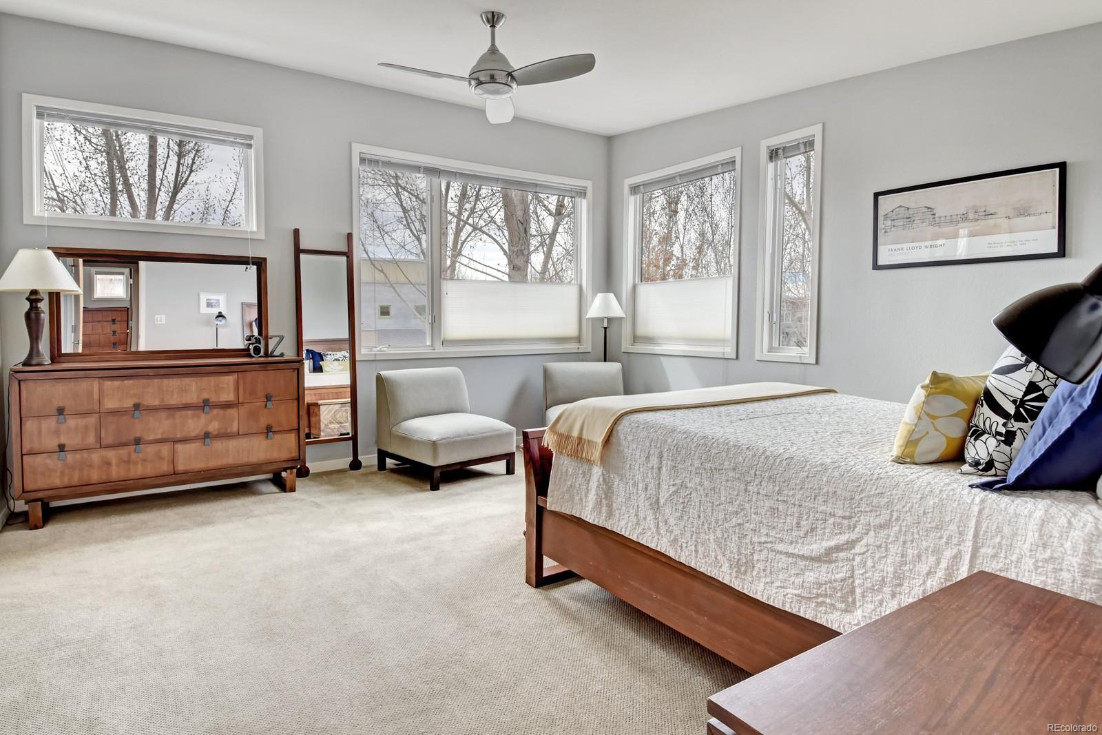 Master Bedroom in the Treetops