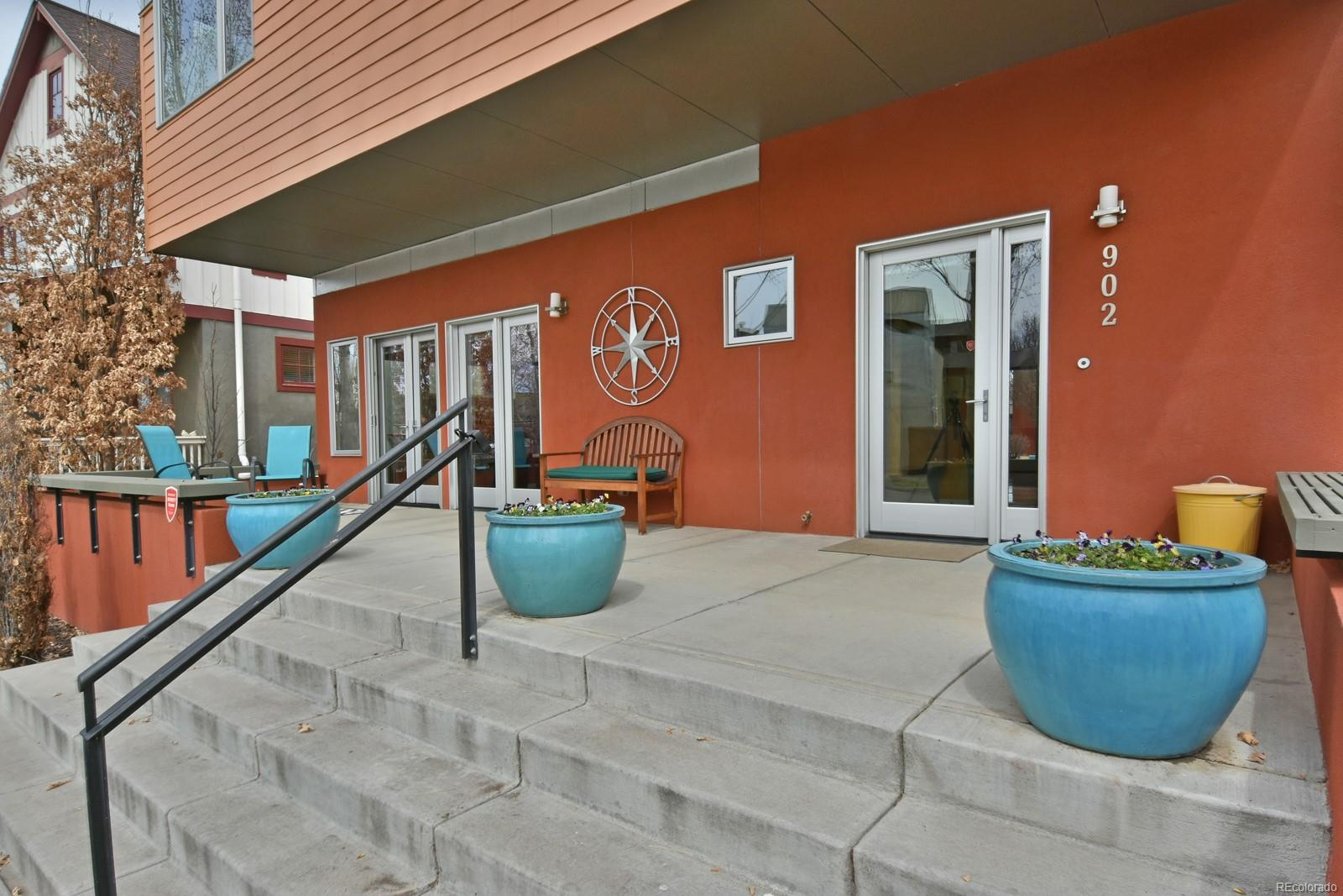 Welcoming Front Porch perfect for sipping & chatting on summer evenings.