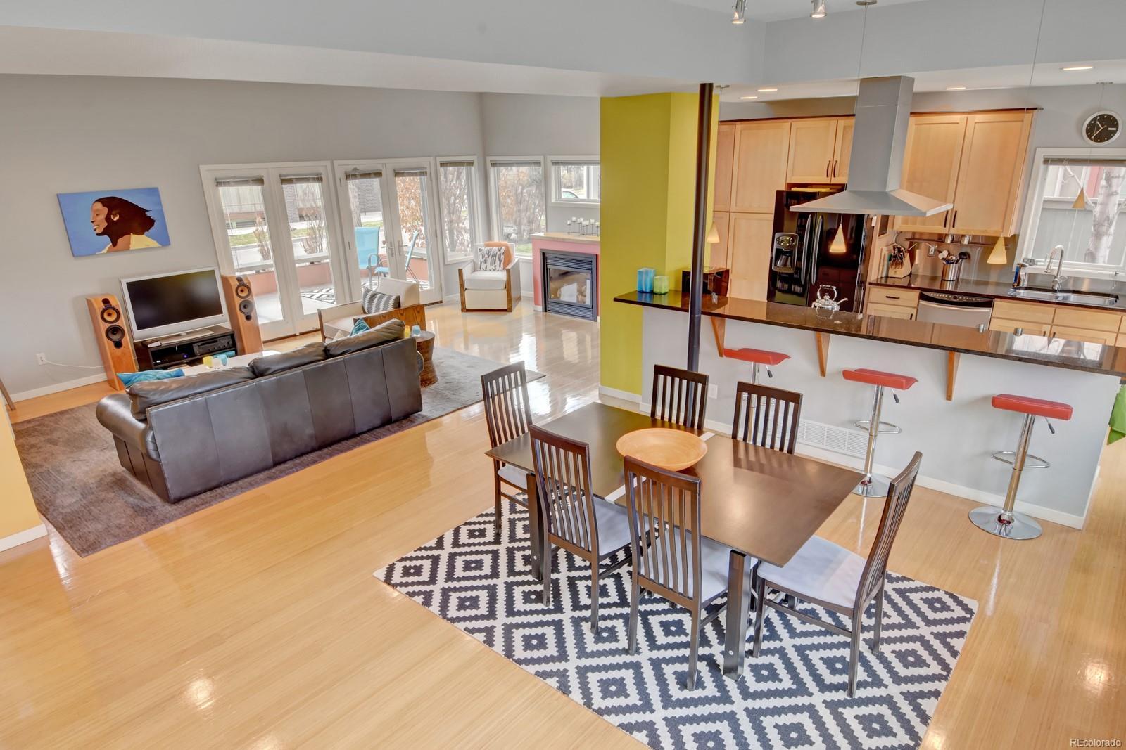 Stunning Open Floor Plan