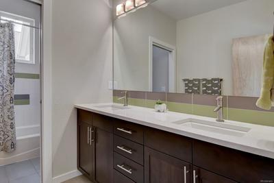 2nd Floor Bath with Double Sink Vanity
