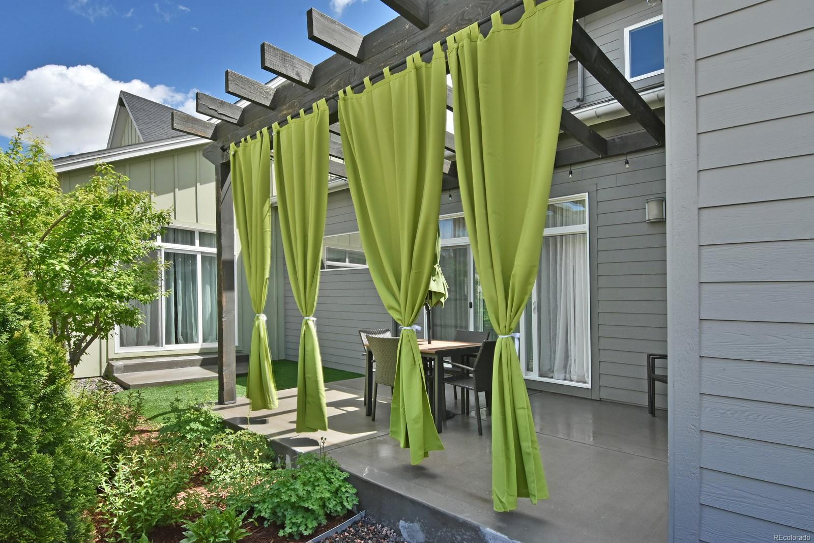 Private Courtyard accessible from Living Rm, Dining Rm & Master Suite