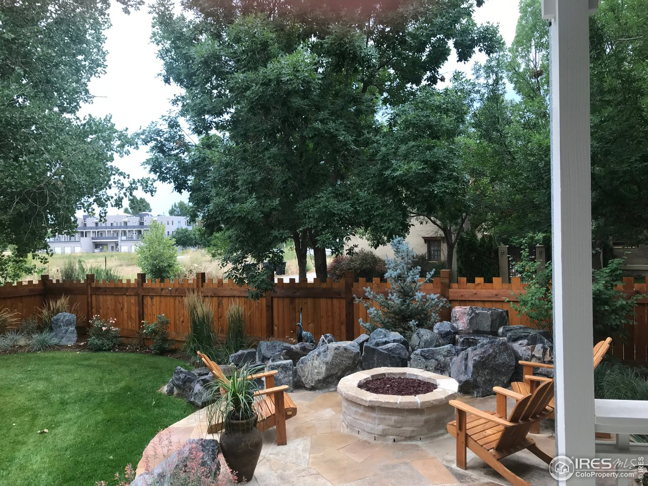 Professional Landscaping w/ Custom Wood Fence