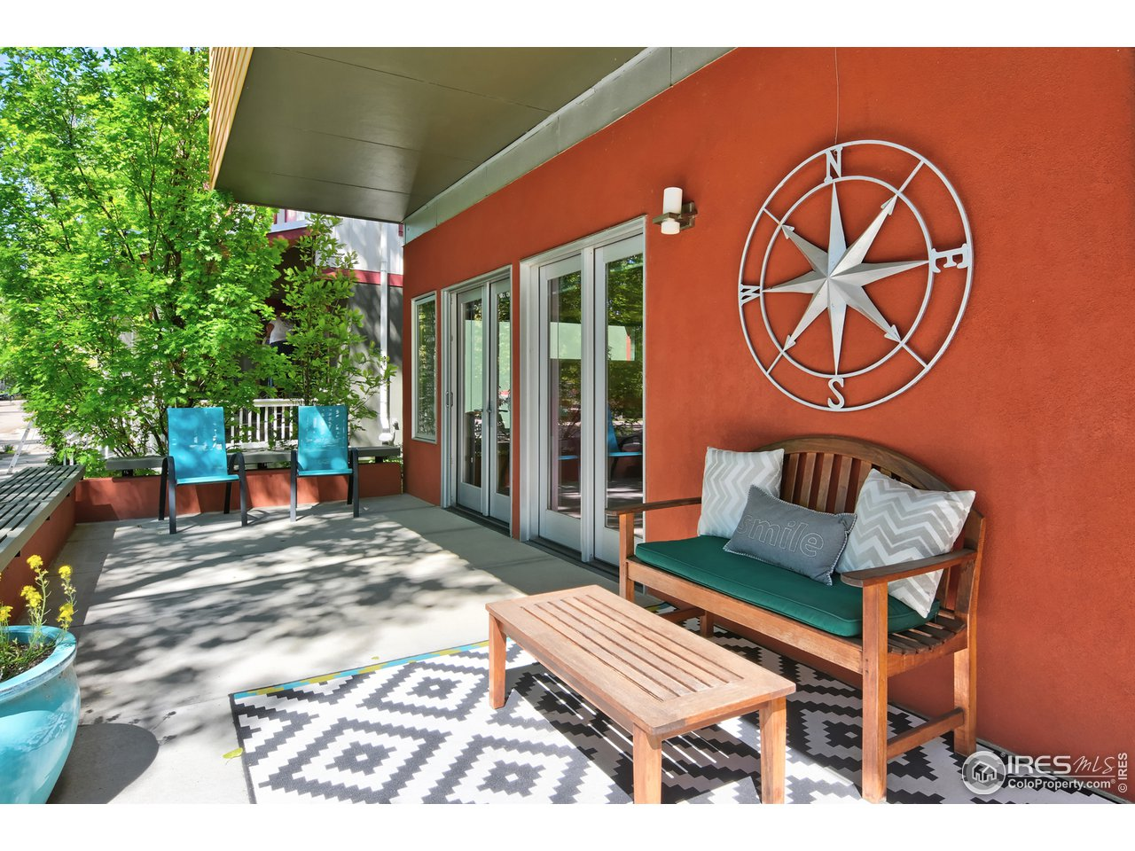 Welcoming Front Porch, perfect for Summer Evenings