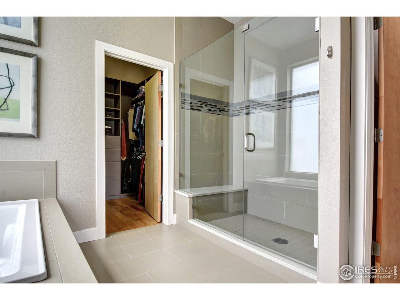 Master Closet with Built-ins
