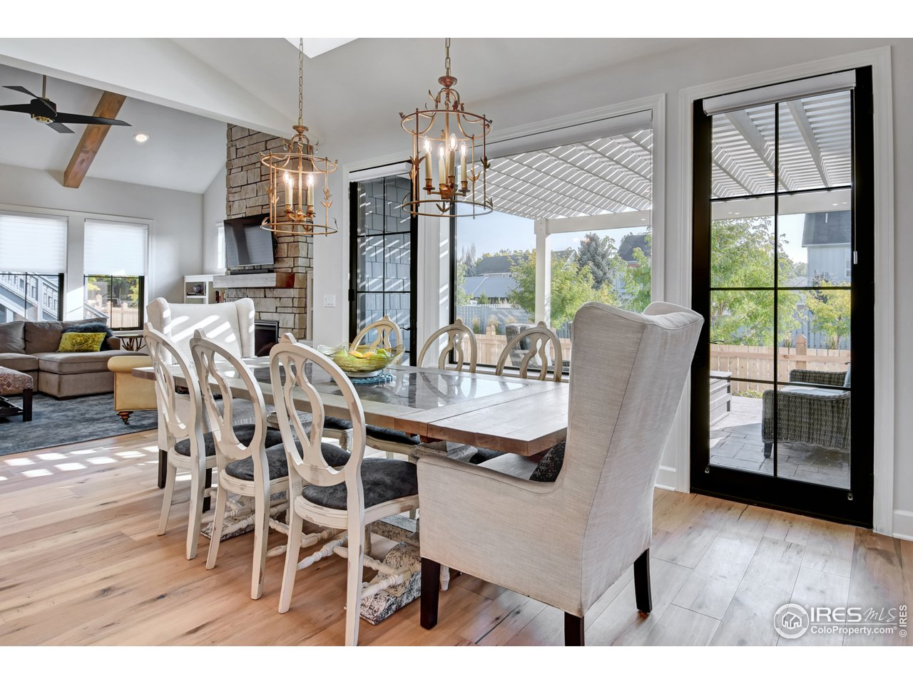 Dining Room opens to covered veranda