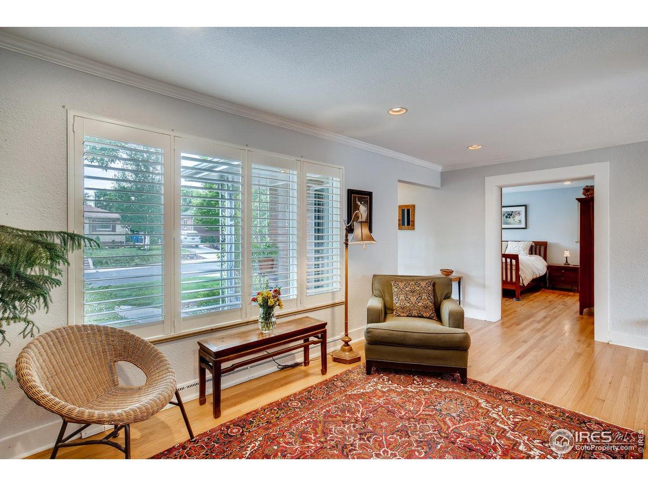 Living room facing master