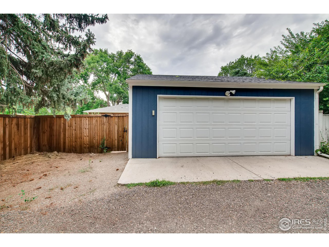 Oversized 2 Car Garage with Alley Access