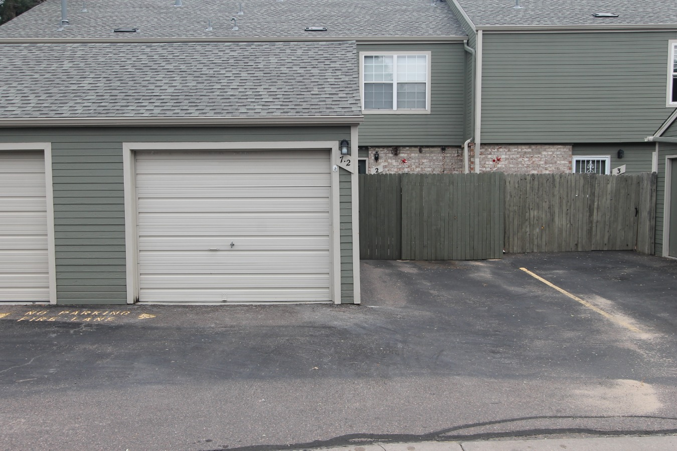 1 car Garage w/ Reserved Space right beside
