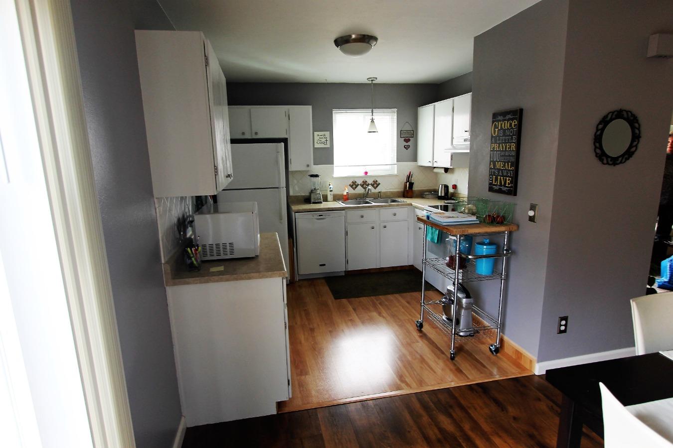 Garage access from Kitchen
