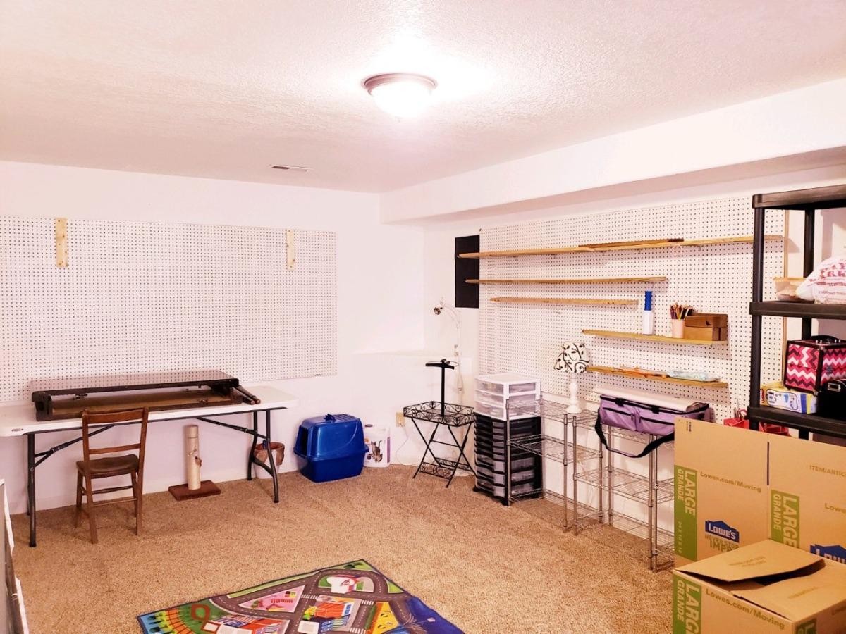 Downstairs 4th Bedroom or Bonus Room