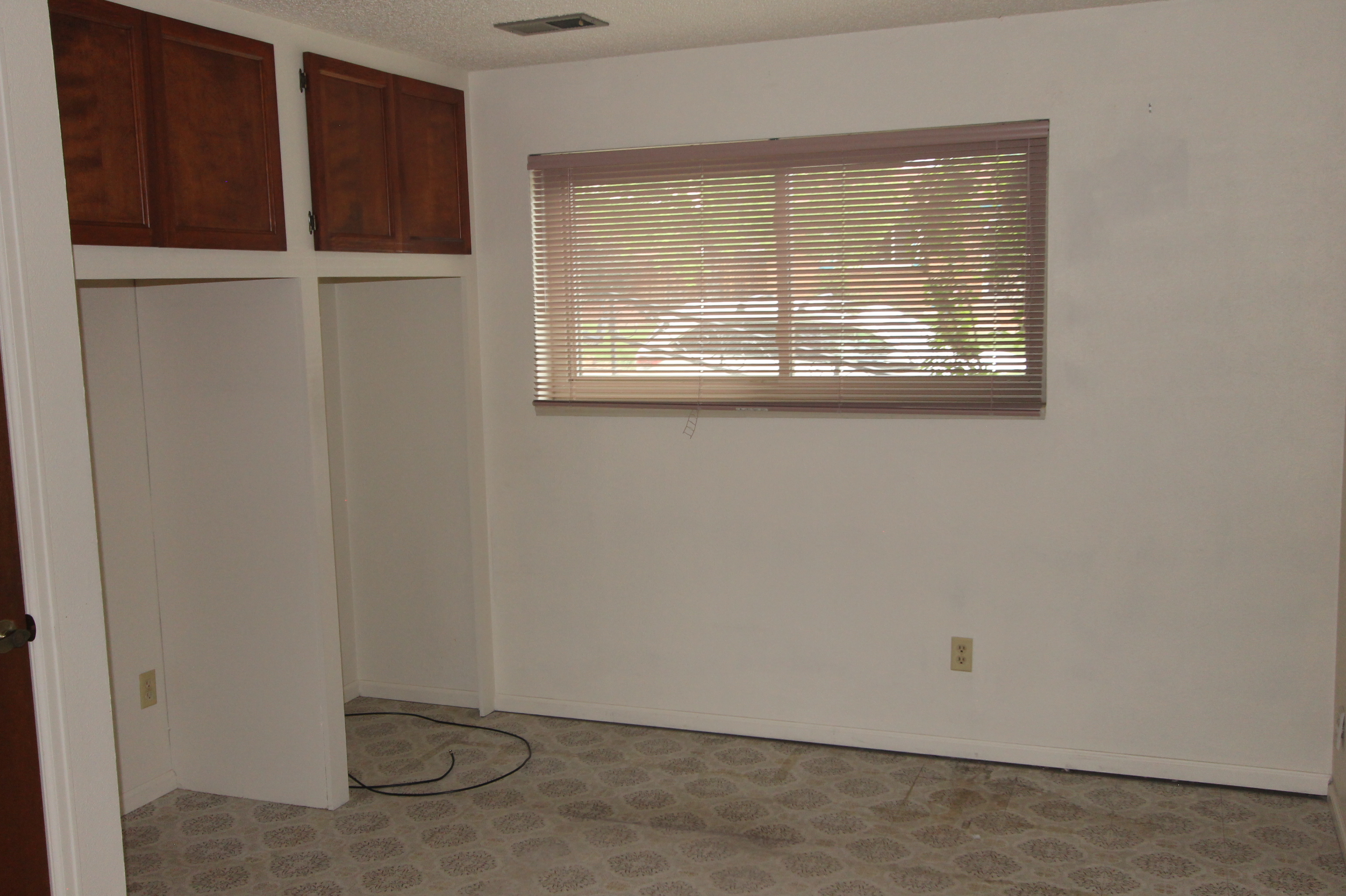 Can Double as Office Area with all the wiring