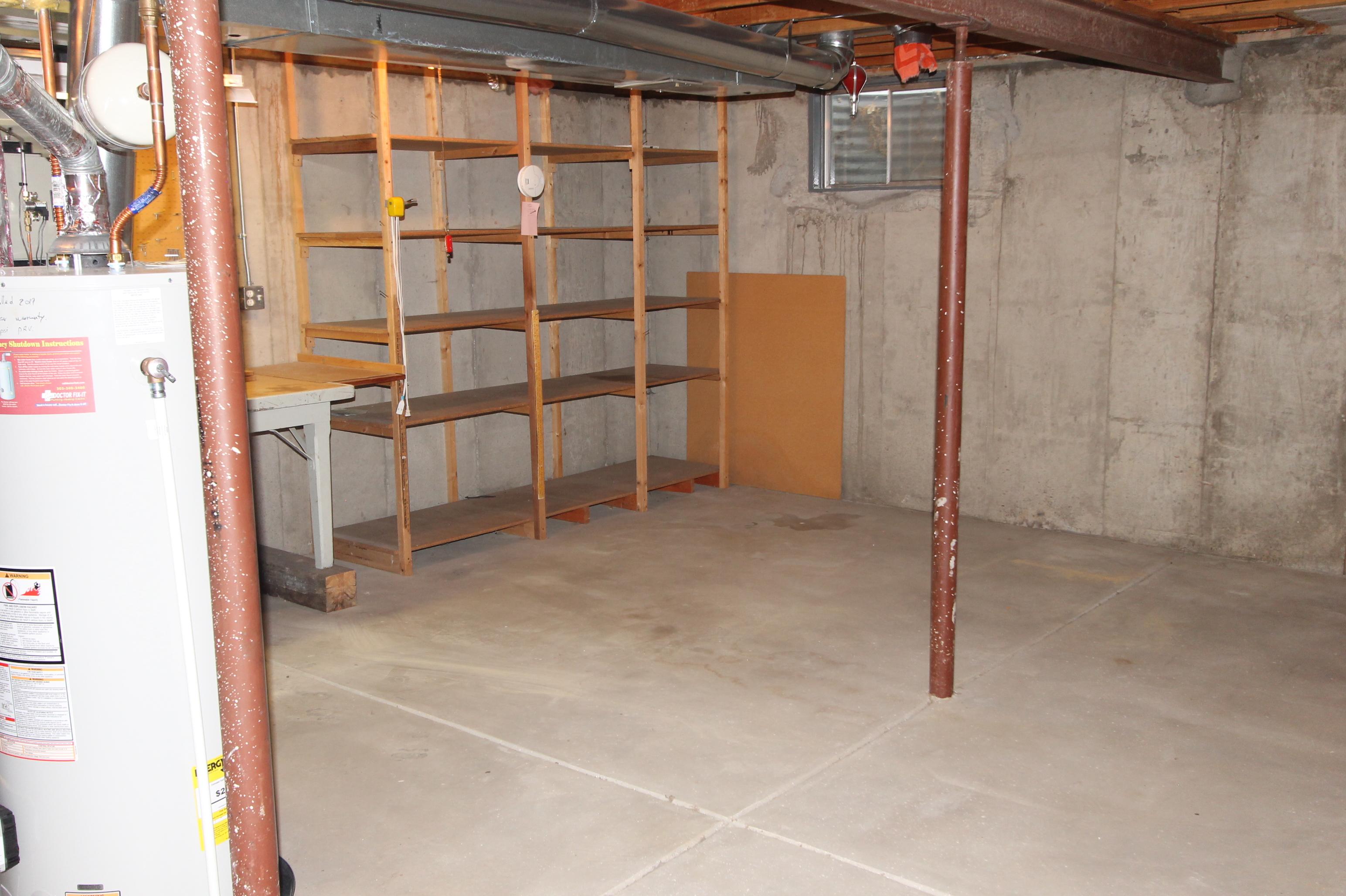 Added Storage Shelves Stay