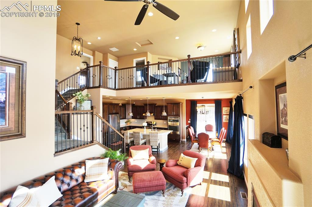 Impressive open plan has high-end finishes and feel.