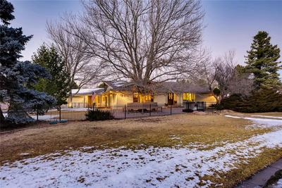 Classic Ranch on an oversized corner lot in Bow Mar South.