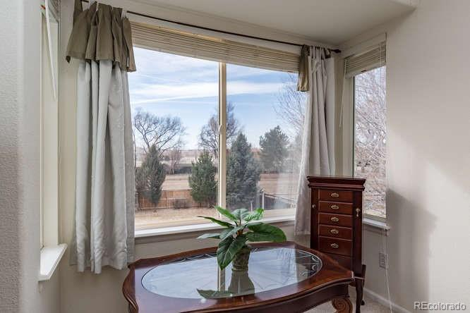 Great light and views from Master Bedroom!