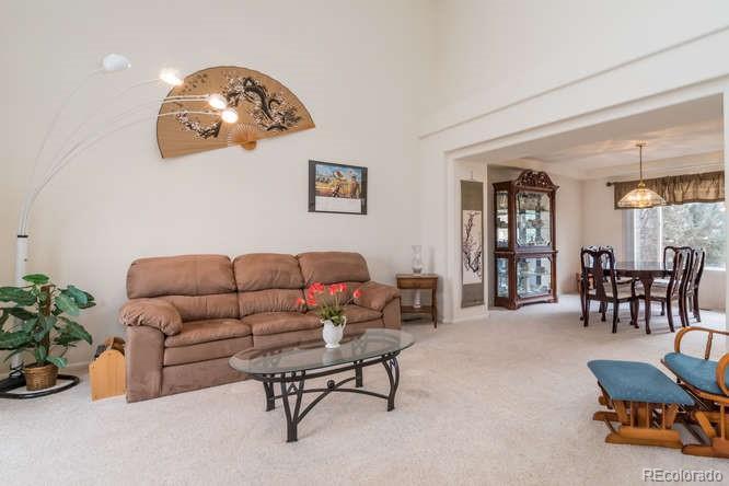 High Ceilings in formal living room!
