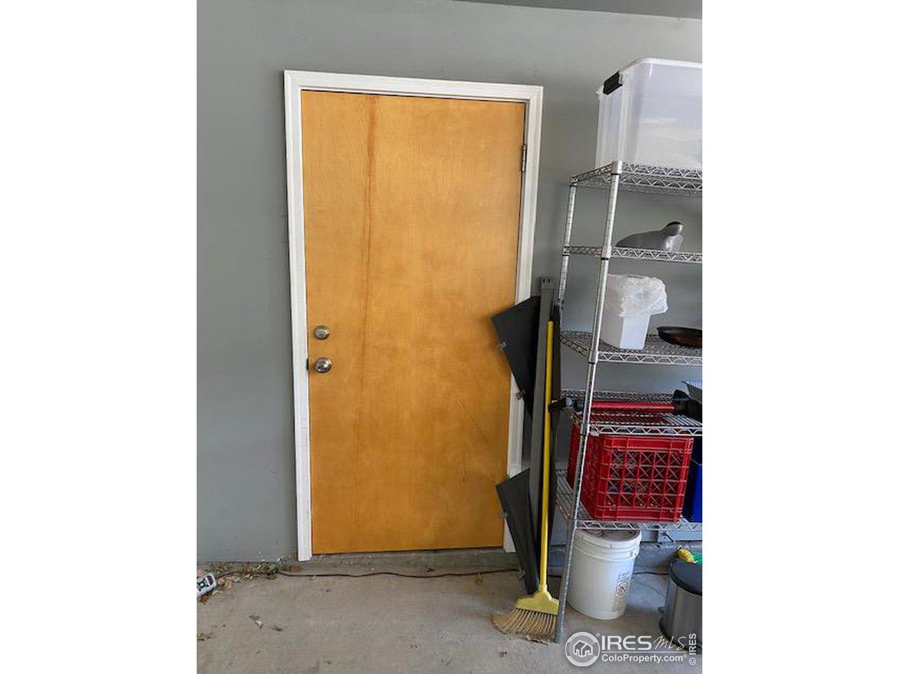 Storage Closet in Carport