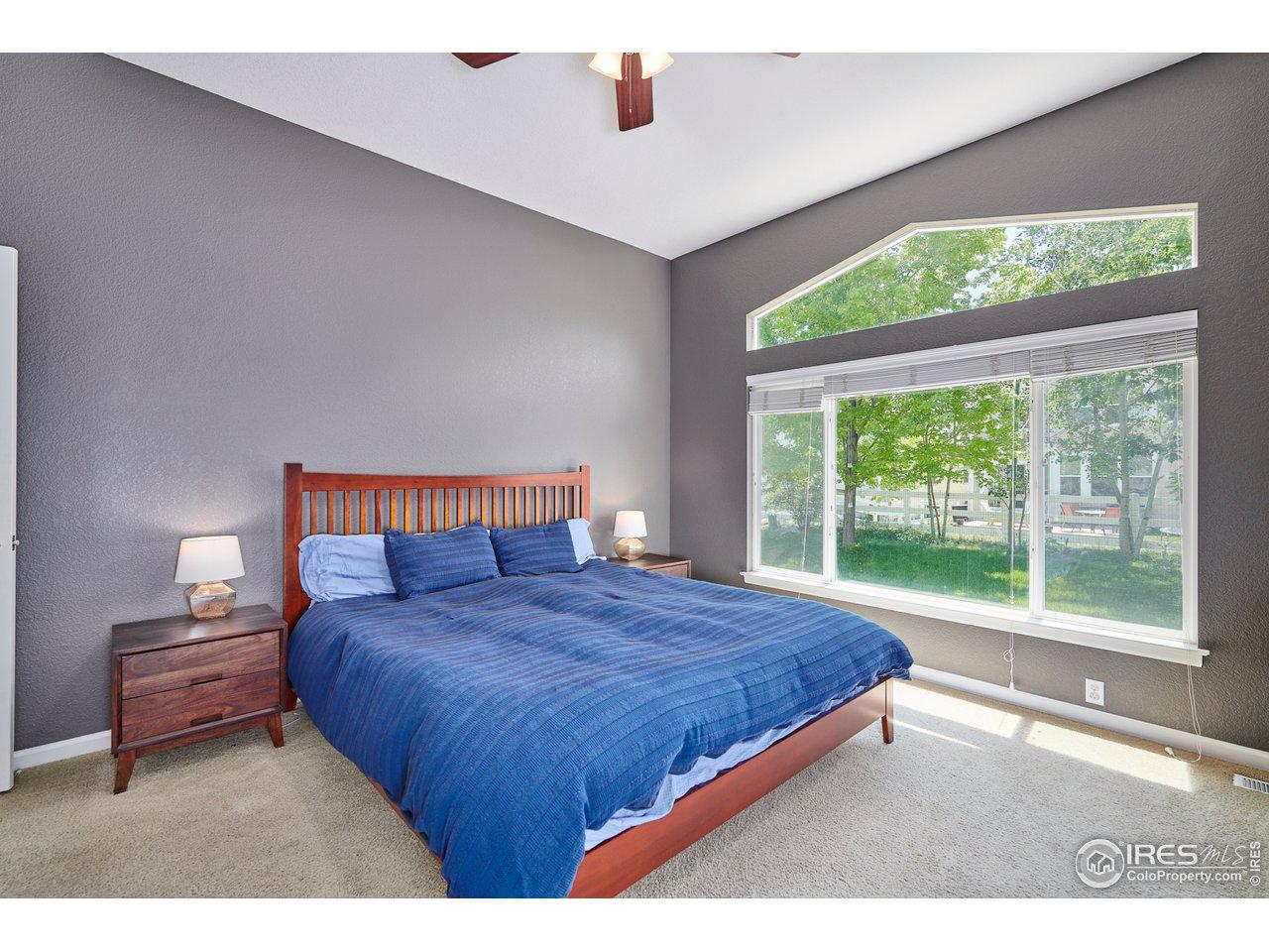 Main Level Primary Bedroom