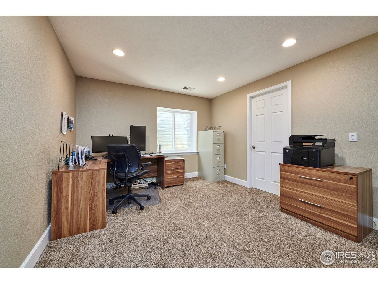 Lower Level Office Space.  Could be made into 5th Bedroom.