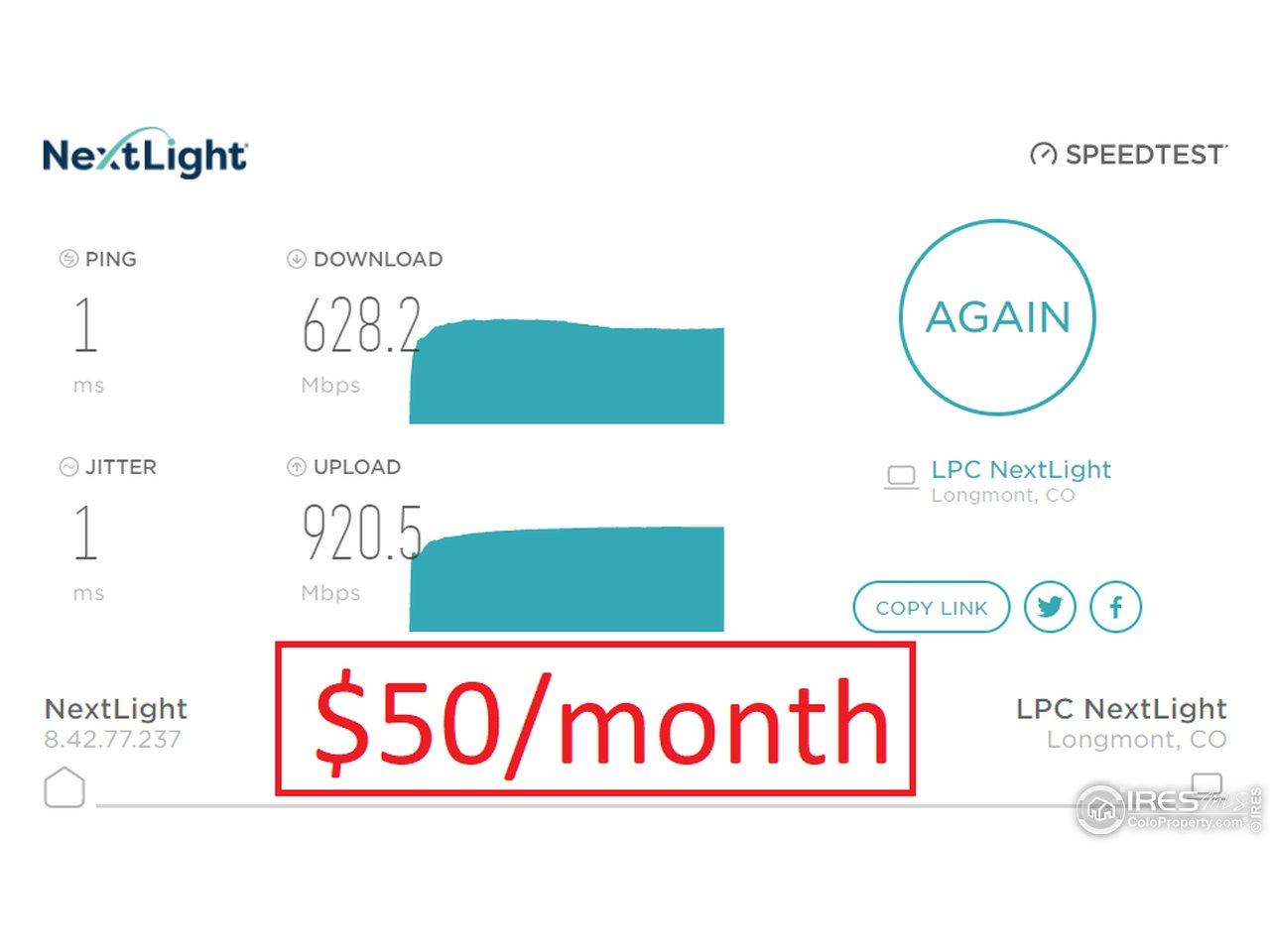 Next Light High Speed Internet