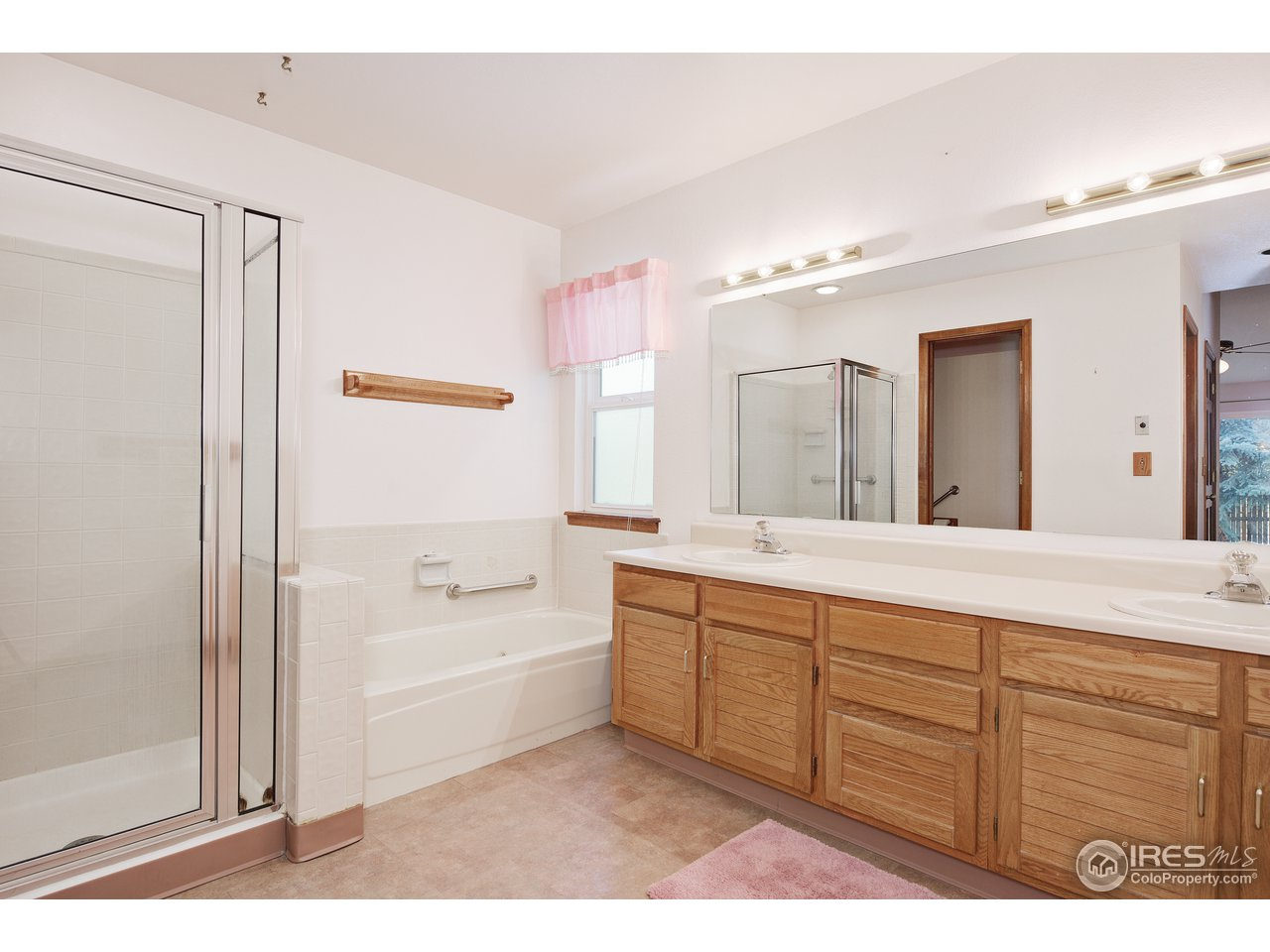 Private Master Bath with separate tub & shower