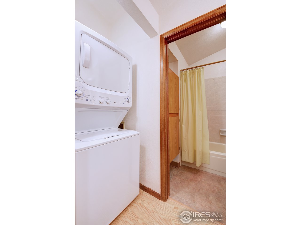 Main level laundry area