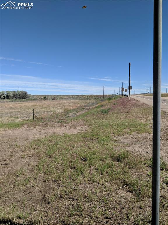 Looking North at entrance from Hwy 50