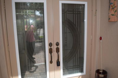 Double Etched Entry Doors