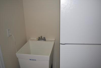 Utility Sink in Laundry Room