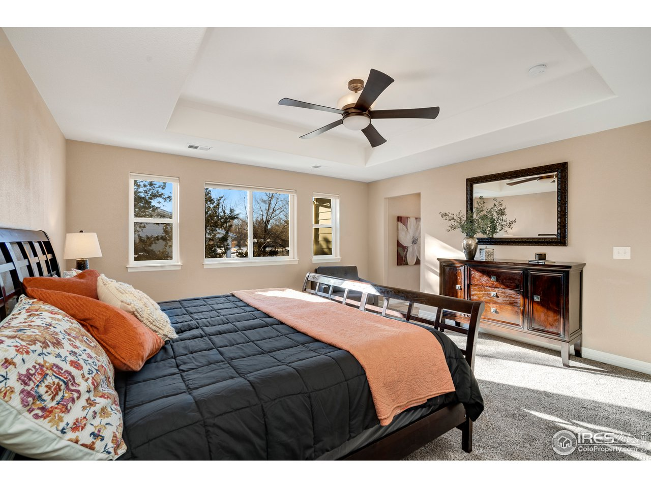 Master bedroom with spectacular ensuite