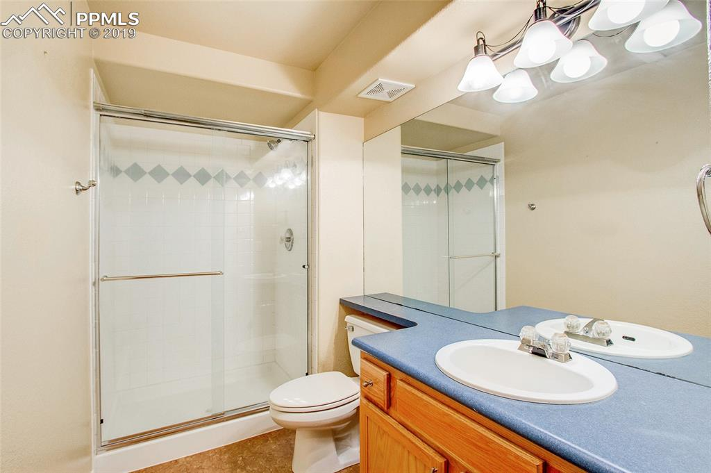 Lower Level Bath with Walk In Shower