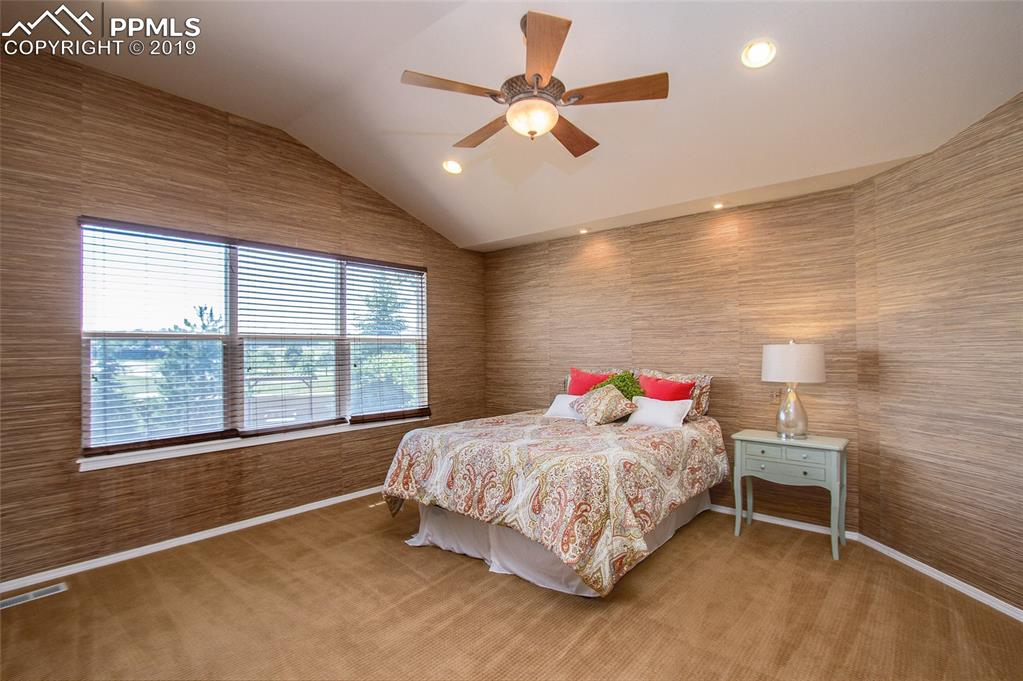 Master Bedroom with Back Yard Exposure