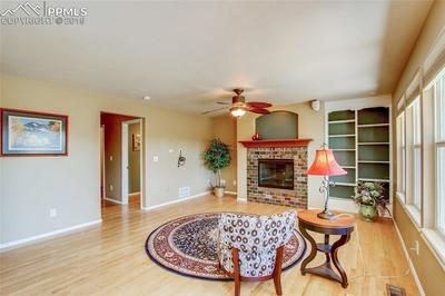Family Room - Hardwood Floors and Tile throughout the main level