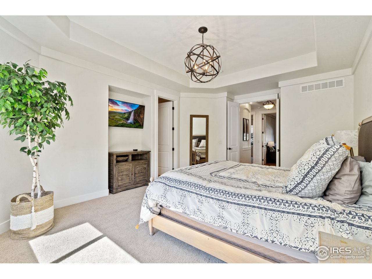 Private Oasis in this Master Bedroom