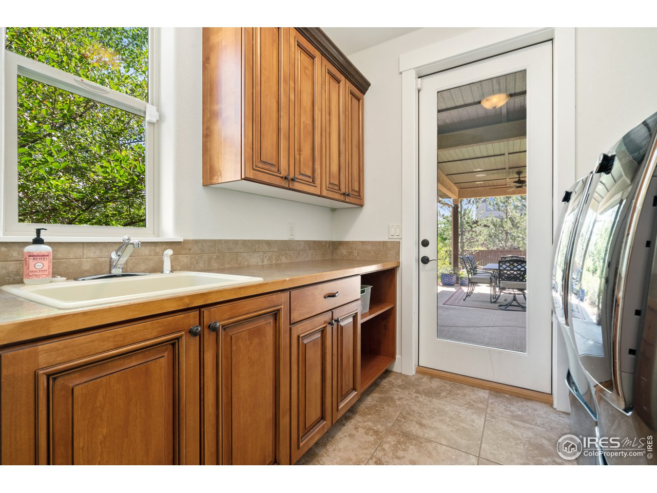 Laundry Room with Hand Washing Sink