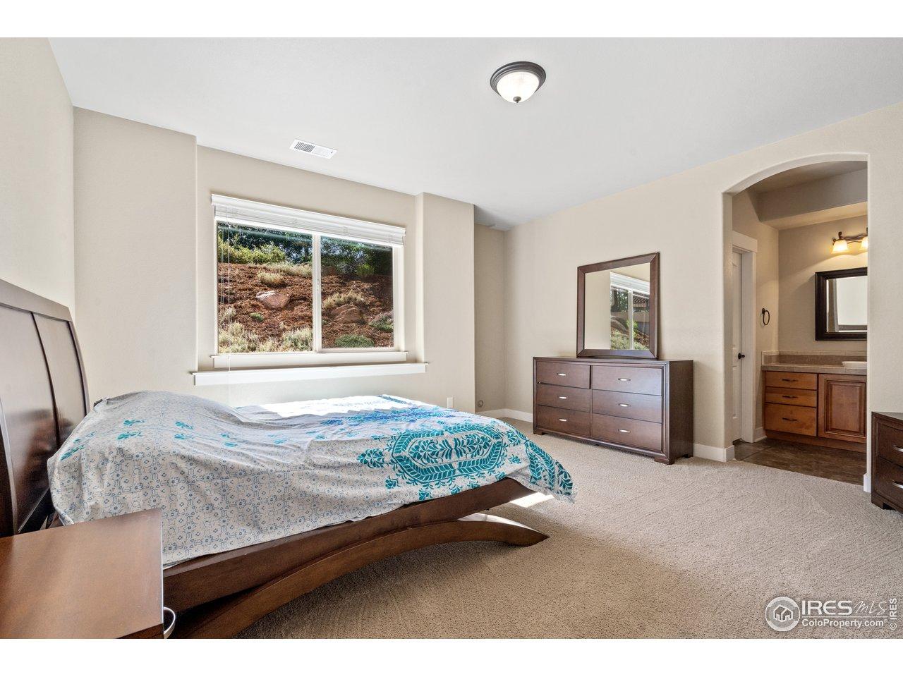 4th Bedroom in Basement