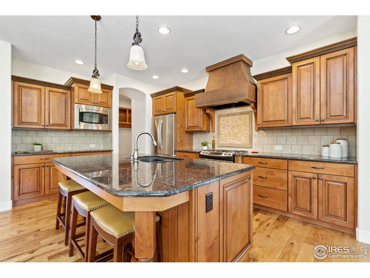Gourmet Kitchen with Large Island