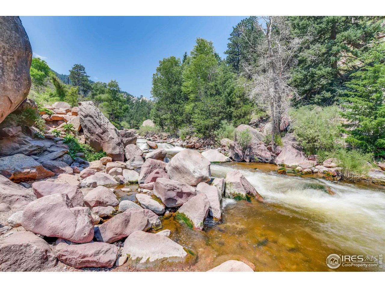 South Boulder Creek in Park
