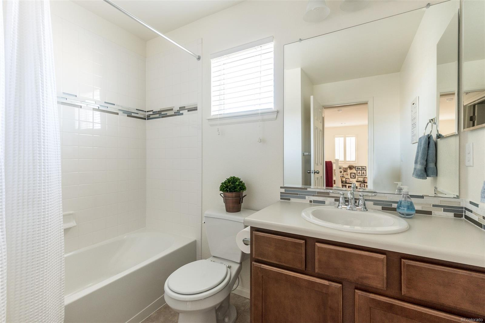 Second bathroom located on upper level.