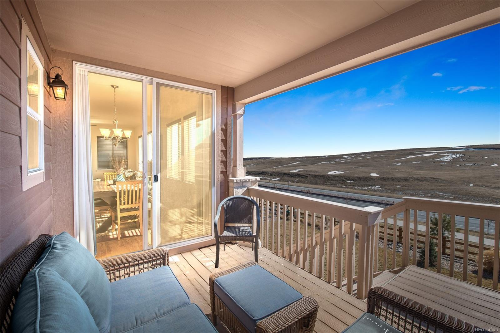 Enjoy sunsets and stunning views from the covered porch