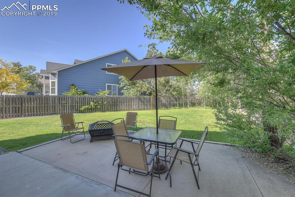 Large backyard and spacious patio