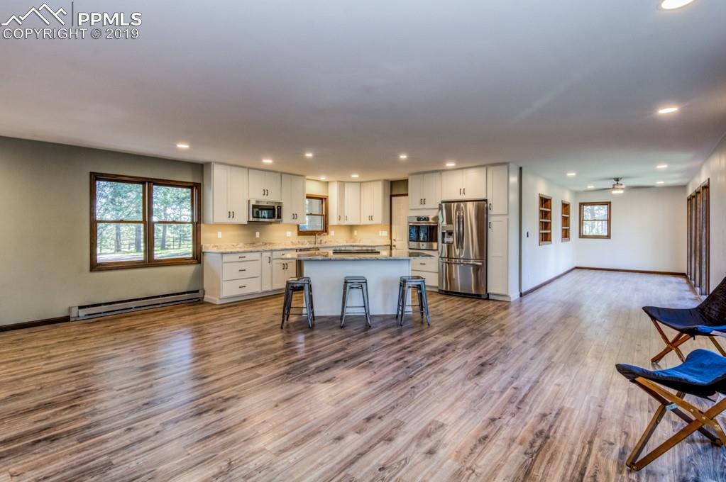 Totally renovated throughout. Large island can comfortably seat five