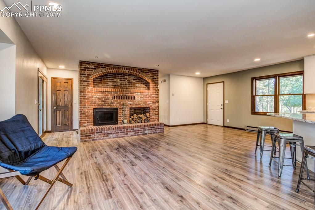 New Wood Laminate Flooring and Custom Paint