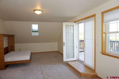 Upstairs; Murphy bed included