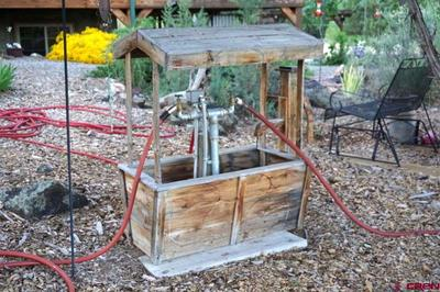 Cistern pump for irrigation water