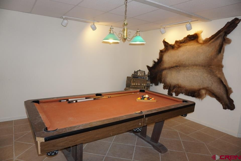 Billiards room; table included in sale price
