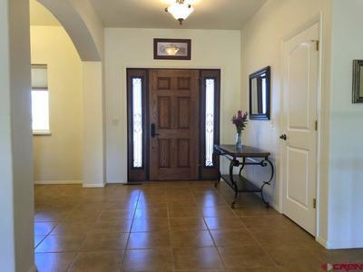 Formal Foyer with Handsome Front Door