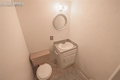 Basement bathroom (toilet will be replaced o 7/6)